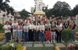 St.Gabriel, St.Laurent students visit to Hyderabad from France at Montfort Bhavan
