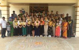 Study visit of Student and Staff of St. Gabriel, St. Laurent Sur Sevre, France-2019