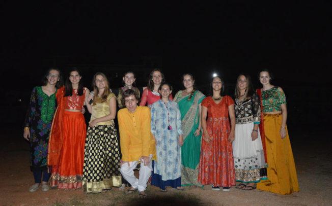 St.Gabriel, St.Laurent students visit to Hyderabad from France at Montfort Bhavan
