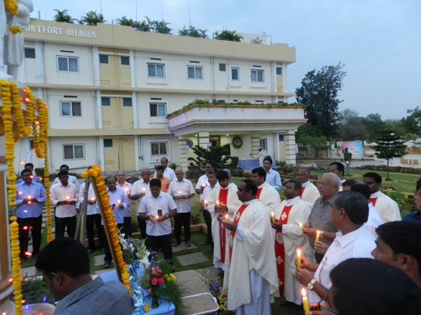 Feast Celebration of St. Montfort on 28th April 2019 at Montfort Bhavan, Hyderabad
