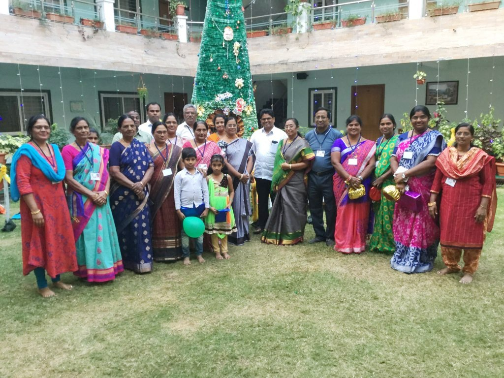 Christmas Celebration for MAM group in 2019
